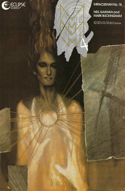 Cover for Miracleman (Eclipse, 1985 series) #18