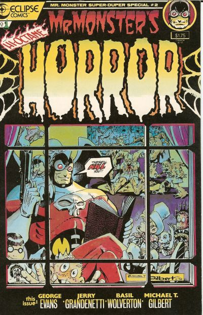 Cover for Mr. Monster's Super Duper Special (Eclipse, 1986 series) #2