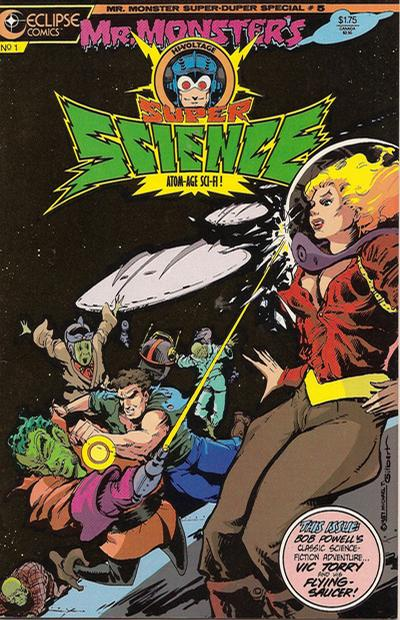 Cover for Mr. Monster's Super Duper Special (Eclipse, 1986 series) #5