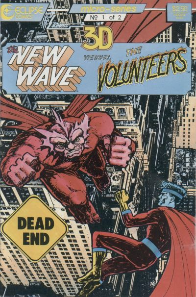 Cover for The New Wave vs. the Volunteers (Eclipse, 1987 series) #1