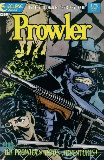 Cover for The Prowler (Eclipse, 1987 series) #2