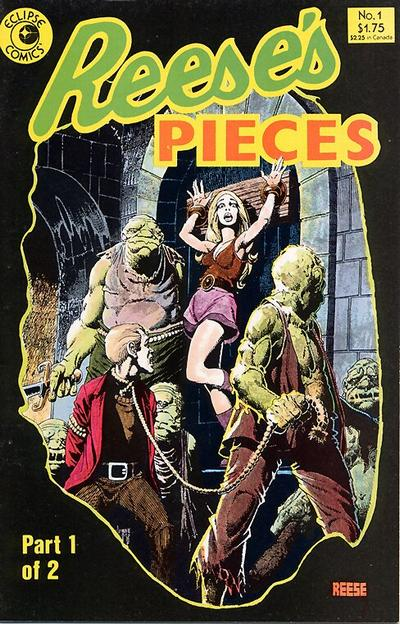 Cover for Reese's Pieces (Eclipse, 1985 series) #1