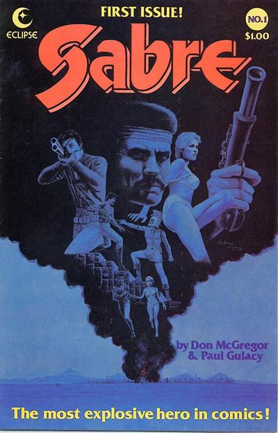 Cover for Sabre (Eclipse, 1982 series) #1