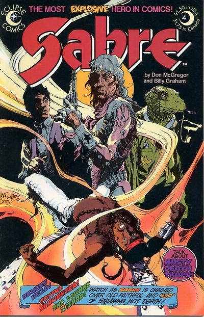 Cover for Sabre (Eclipse, 1982 series) #4