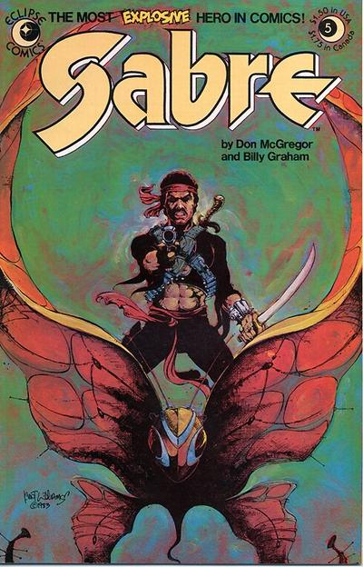Cover for Sabre (Eclipse, 1982 series) #5