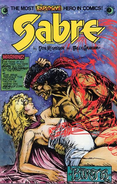 Cover for Sabre (Eclipse, 1982 series) #7
