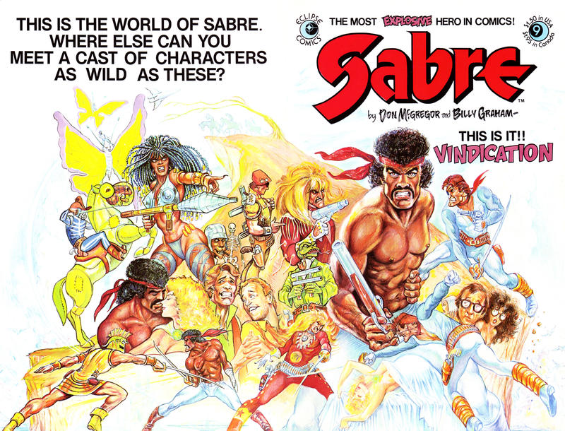 Cover for Sabre (Eclipse, 1982 series) #9