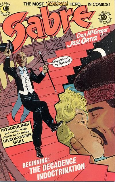 Cover for Sabre (Eclipse, 1982 series) #10