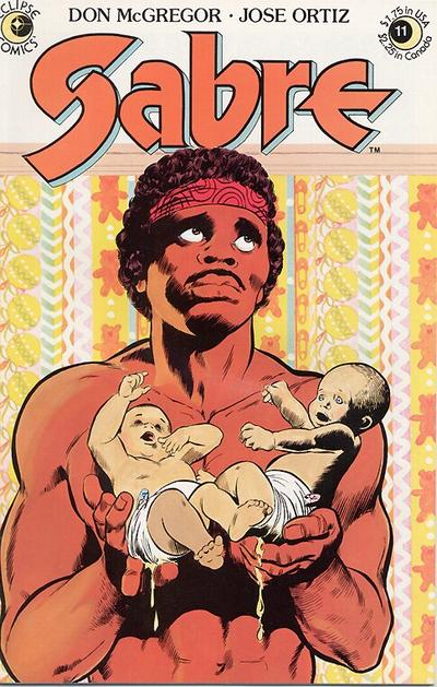 Cover for Sabre (Eclipse, 1982 series) #11