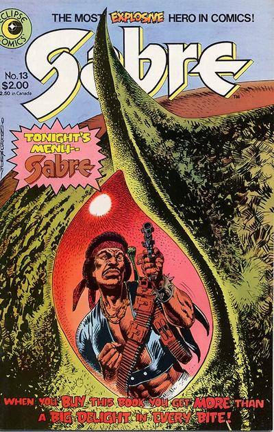 Cover for Sabre (Eclipse, 1982 series) #13