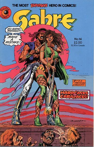 Cover for Sabre (Eclipse, 1982 series) #14