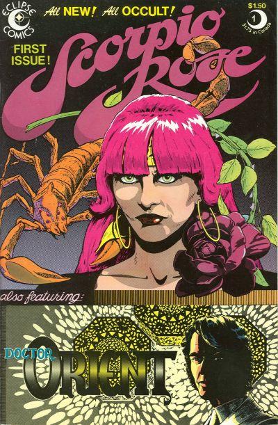 Cover for Scorpio Rose (Eclipse, 1983 series) #1