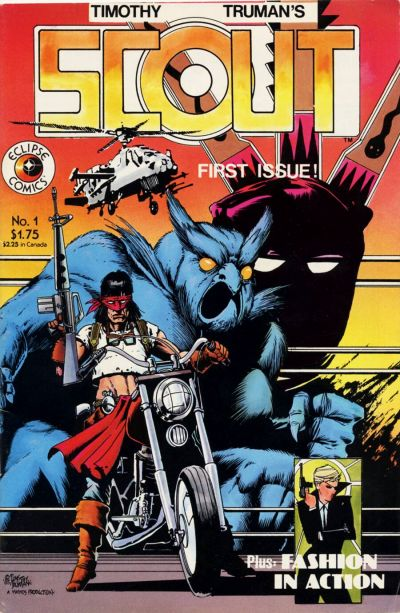 Cover for Scout (Eclipse, 1985 series) #1