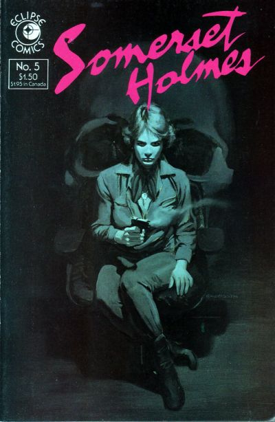 Cover for Somerset Holmes (Eclipse, 1984 series) #5