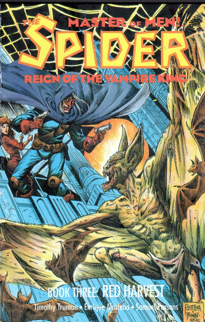 Cover for The Spider: Reign of the Vampire King (Eclipse, 1992 series) #3
