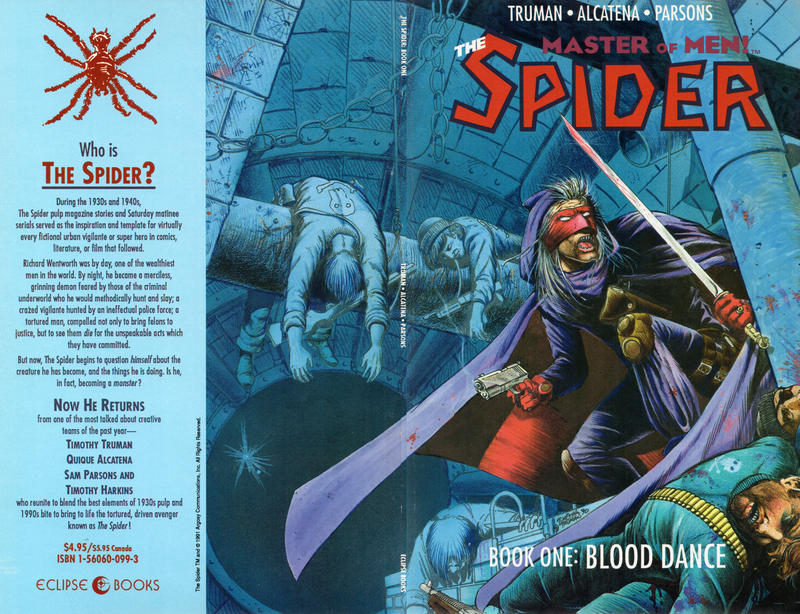 Cover for The Spider (Eclipse, 1991 series) #1