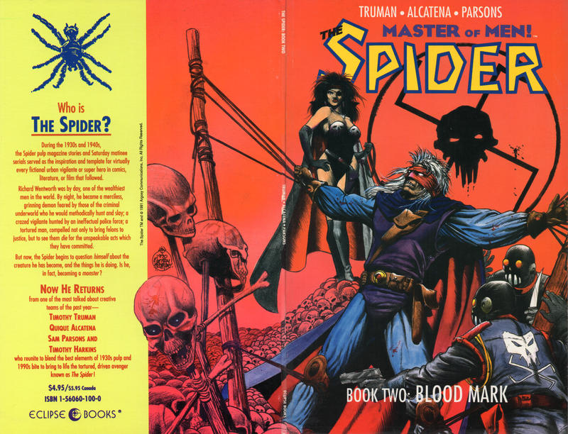 Cover for The Spider (Eclipse, 1991 series) #2