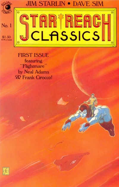 Cover for Star*Reach Classics (Eclipse, 1984 series) #1
