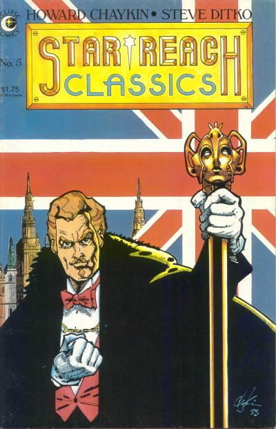 Cover for Star*Reach Classics (Eclipse, 1984 series) #5