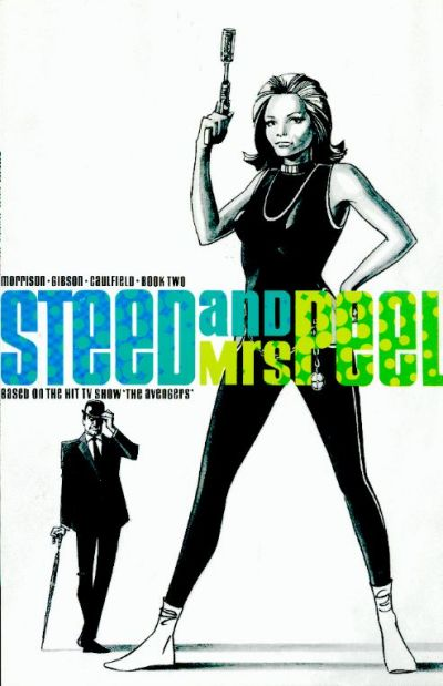 Cover for Steed and Mrs. Peel (Eclipse; Acme Press, 1990 series) #2