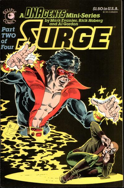 Cover for Surge (Eclipse, 1984 series) #2