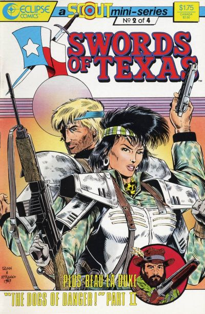 Cover for Swords of Texas (Eclipse, 1987 series) #2
