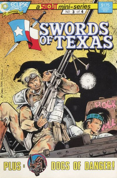 Cover for Swords of Texas (Eclipse, 1987 series) #3
