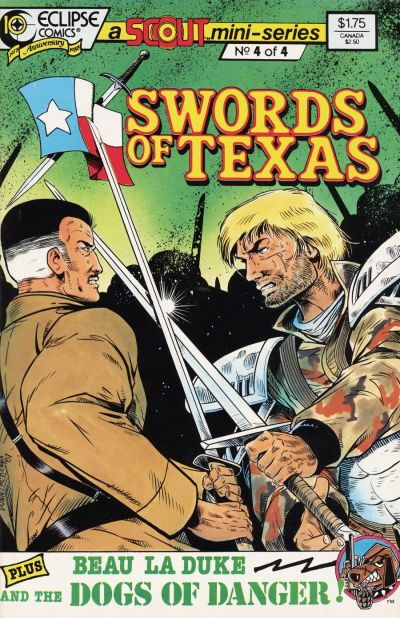 Cover for Swords of Texas (Eclipse, 1987 series) #4