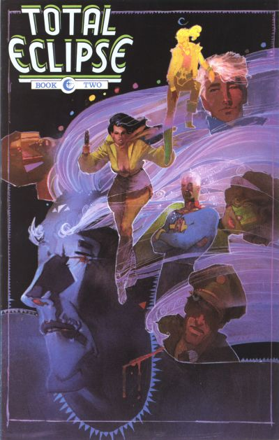 Cover for Total Eclipse (Eclipse, 1988 series) #2