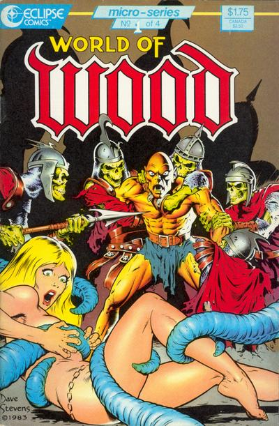 Cover for World of Wood (Eclipse, 1986 series) #1