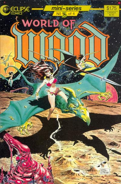 Cover for World of Wood (Eclipse, 1986 series) #3