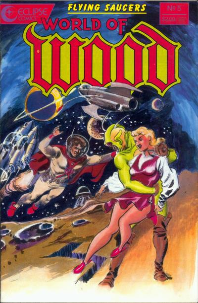 Cover for World of Wood (Eclipse, 1986 series) #5