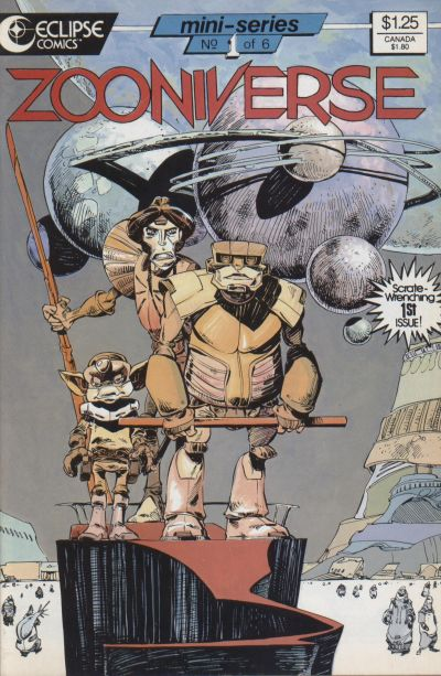 Cover for Zooniverse (Eclipse, 1986 series) #1