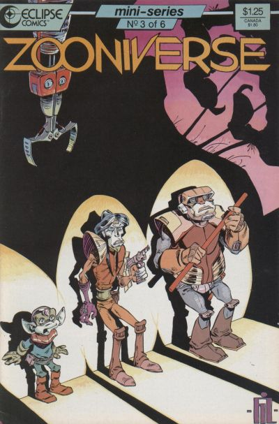 Cover for Zooniverse (Eclipse, 1986 series) #3