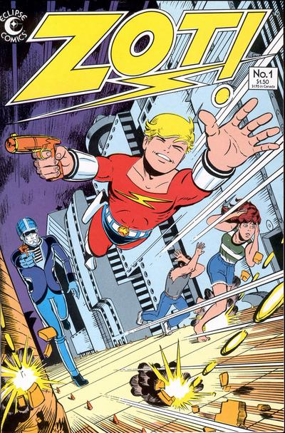 Cover for Zot! (Eclipse, 1984 series) #1