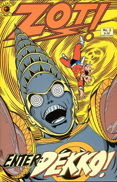 Cover for Zot! (Eclipse, 1984 series) #3