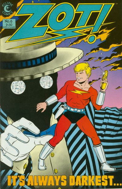 Cover for Zot! (Eclipse, 1984 series) #6