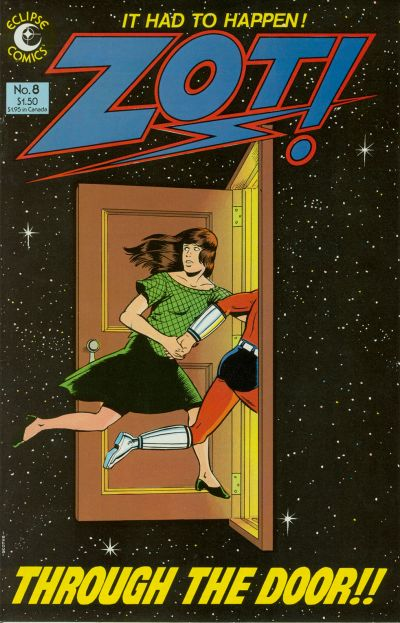 Cover for Zot! (Eclipse, 1984 series) #8