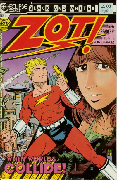 Cover for Zot! (Eclipse, 1984 series) #11