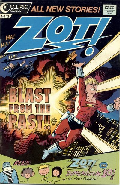 Cover for Zot! (Eclipse, 1984 series) #12