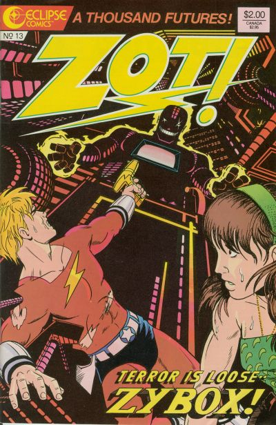 Cover for Zot! (Eclipse, 1984 series) #13