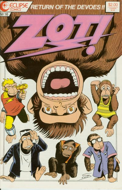 Cover for Zot! (Eclipse, 1984 series) #16