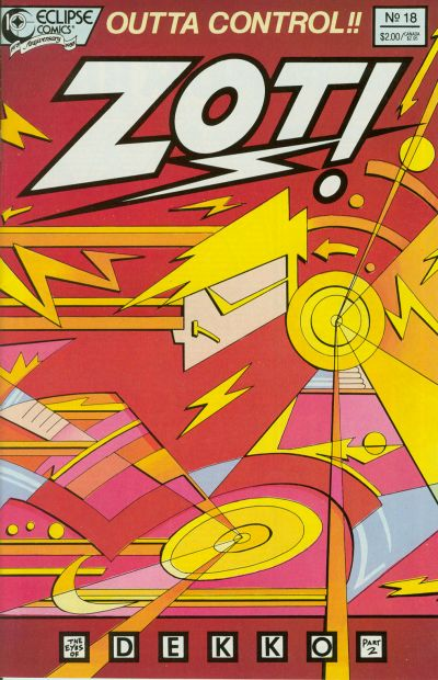Cover for Zot! (Eclipse, 1984 series) #18