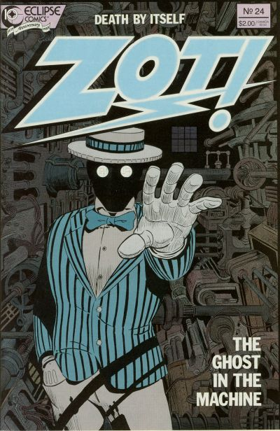 Cover for Zot! (Eclipse, 1984 series) #24