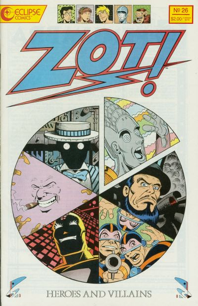 Cover for Zot! (Eclipse, 1984 series) #26