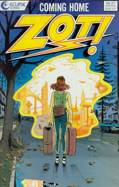 Cover for Zot! (Eclipse, 1984 series) #27