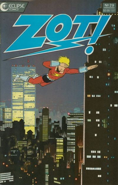 Cover for Zot! (Eclipse, 1984 series) #29