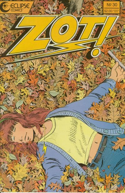 Cover for Zot! (Eclipse, 1984 series) #30