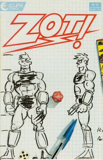 Cover for Zot! (Eclipse, 1984 series) #31