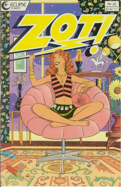 Cover for Zot! (Eclipse, 1984 series) #32